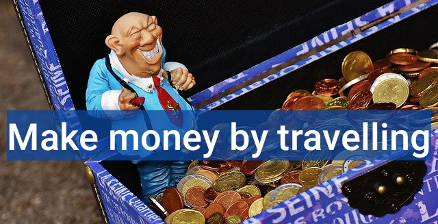 Get paid to travel blog