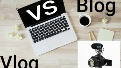Photo of Blog vs vlog the actual difference blog and vlog