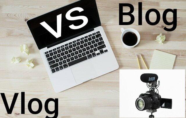 blog vs vlog