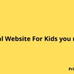 Educational Website For Kids you must know